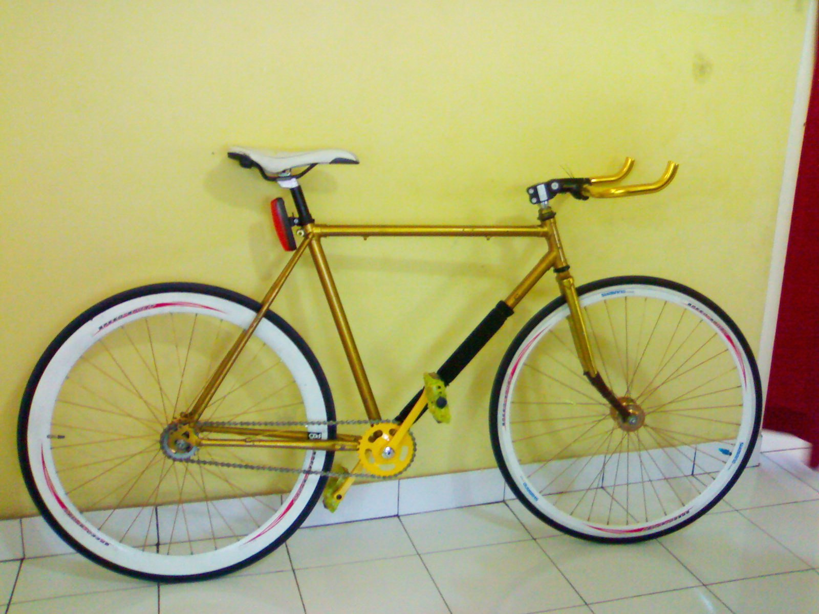 Jual sepeda Fixie palembang life up and down